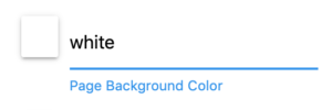 Type the name of a common color
