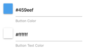 button color and button text color